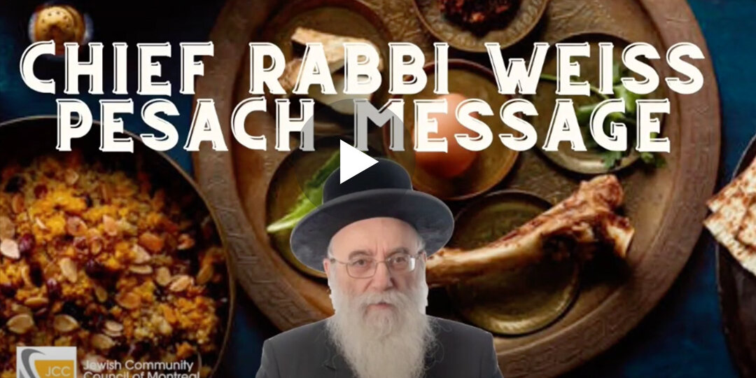 video-rabbi-weiss-passover-message