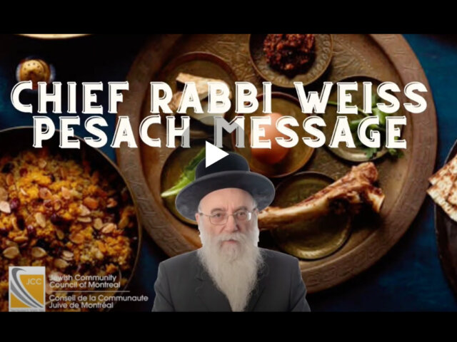 video-rabbi-weiss-passover-message